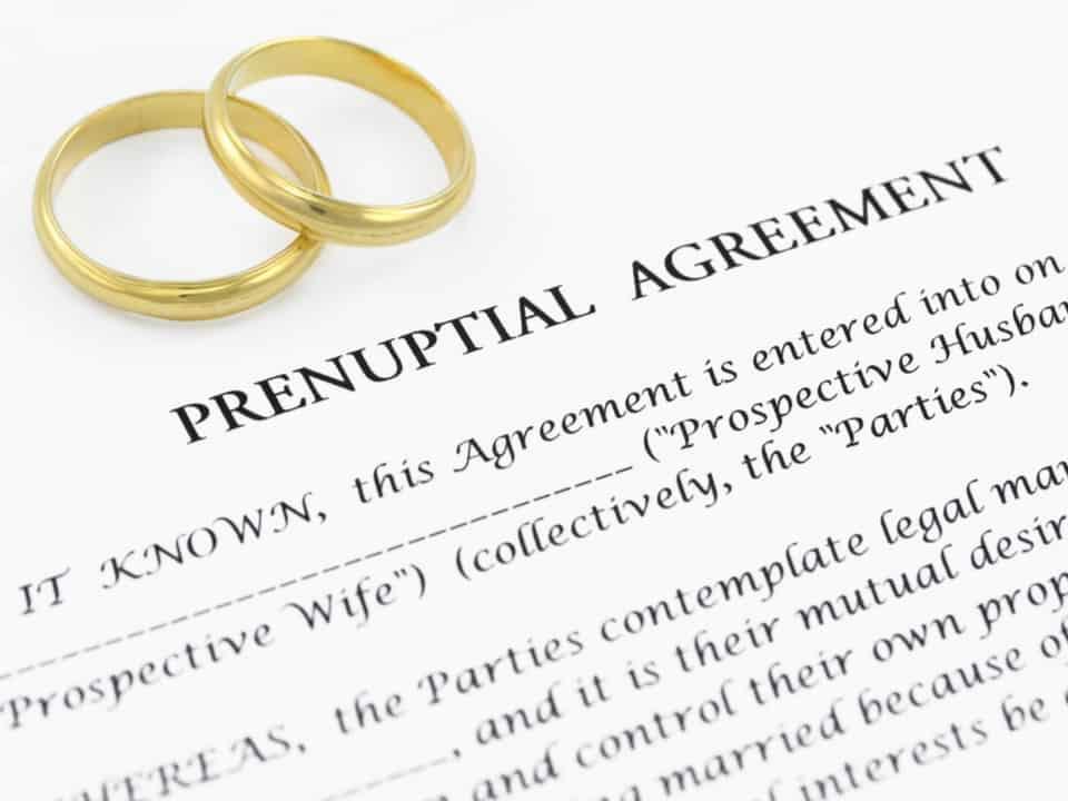 Acuerdo prenupcial