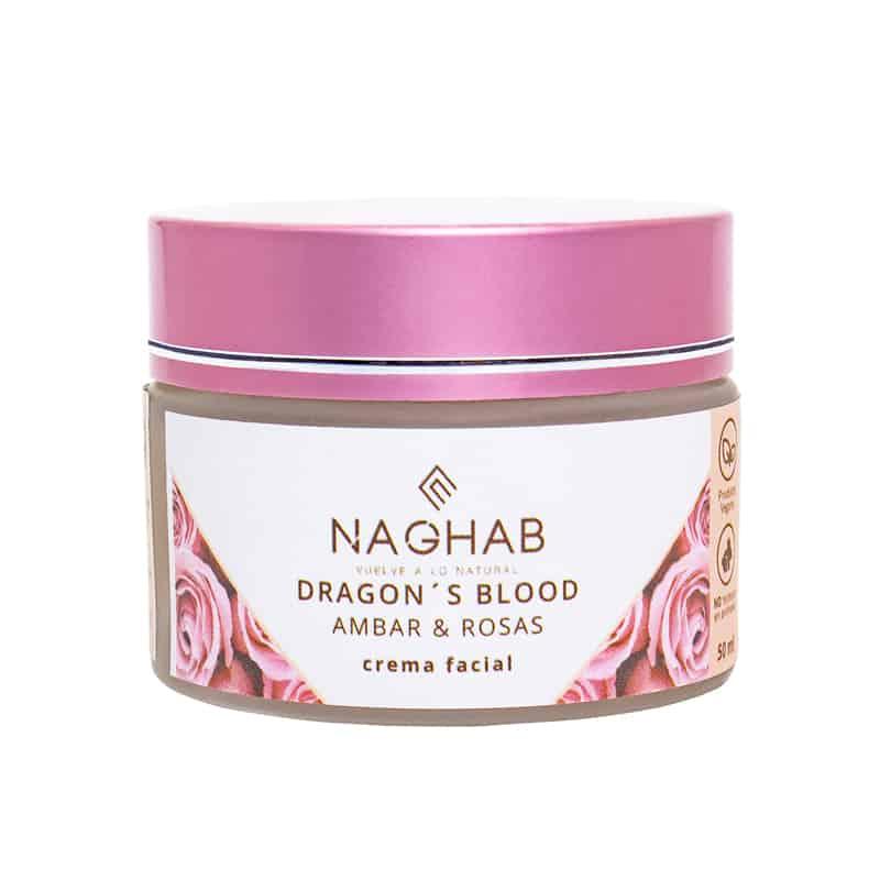 Crema Naghab de rosas