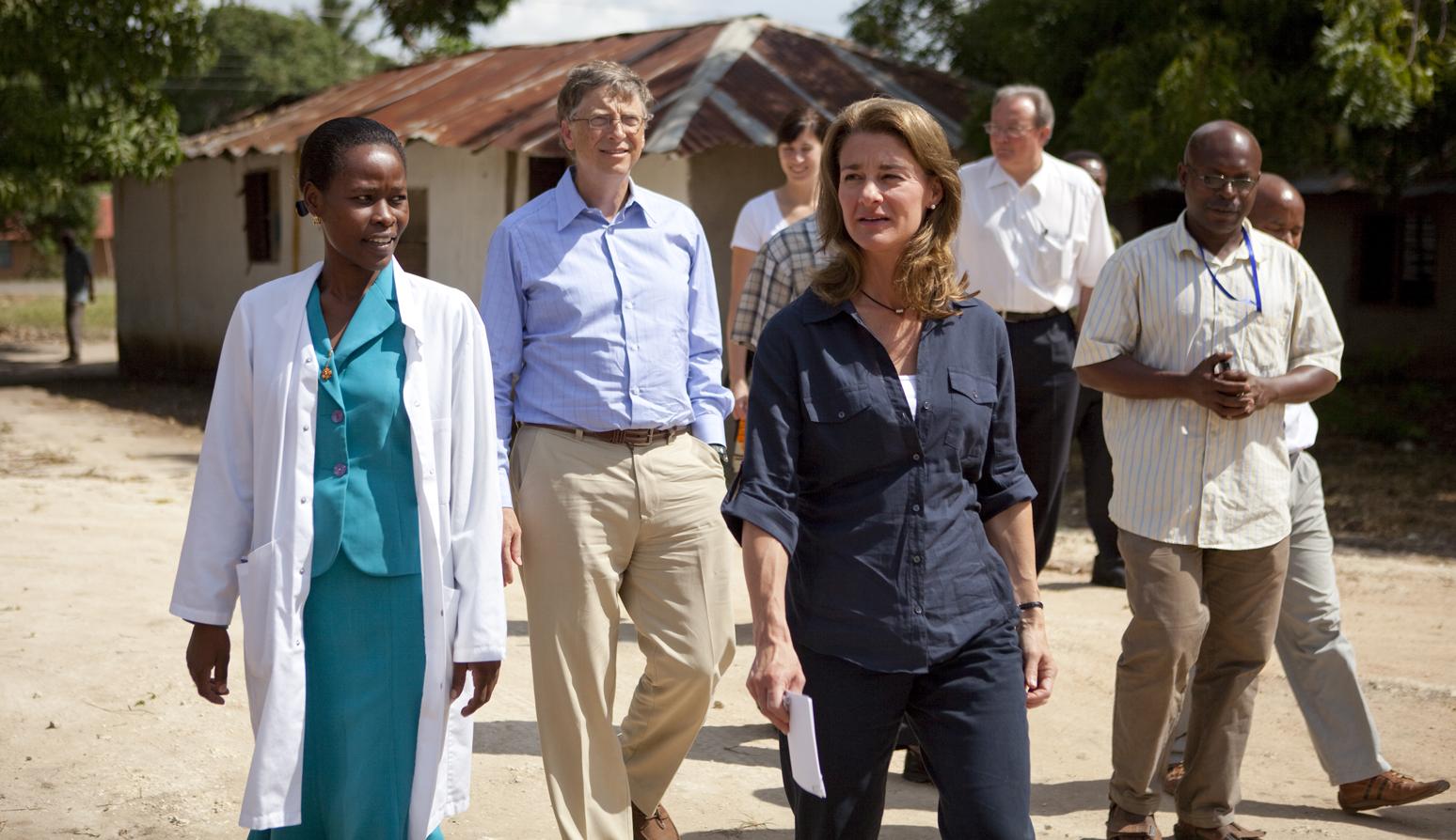 Bill y Melinda Gates Tanzania