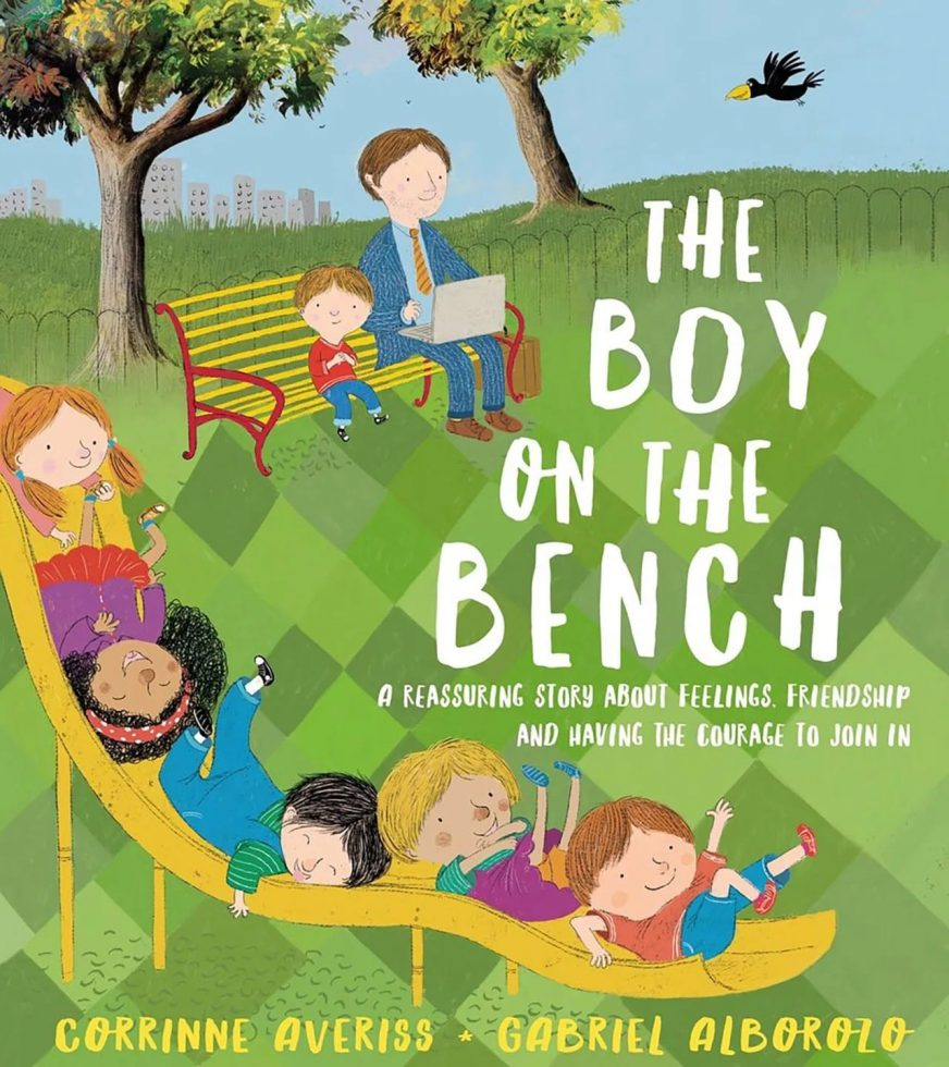 The boy in the bench
