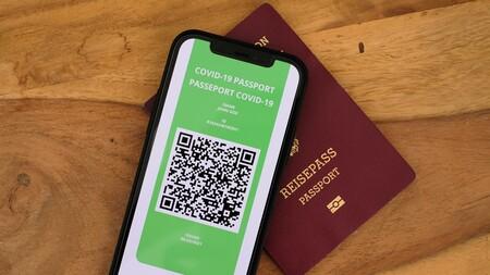 Pasaporte COVID qr