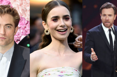 Robert Pattinson, Lily Collins y Ewan McGregor