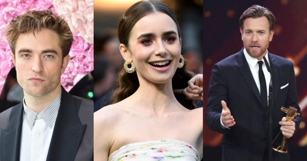 Robert Pattinson, Lily Collins y Ewan McGregor
