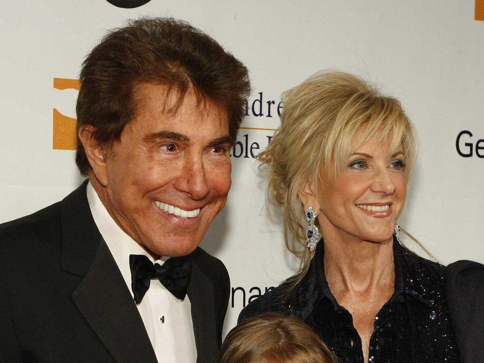 Steve y Elaine Wynn