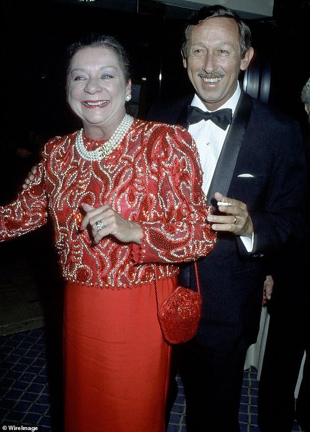 Roy y Patricia Disney