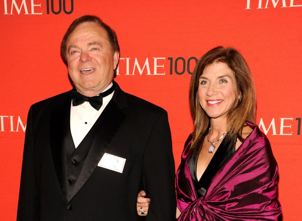 Harold Hamm y Sue Ann Arnall
