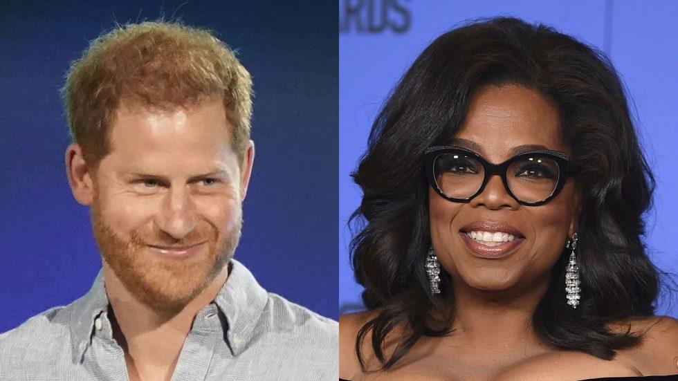 Harry y Oprah Winfrey