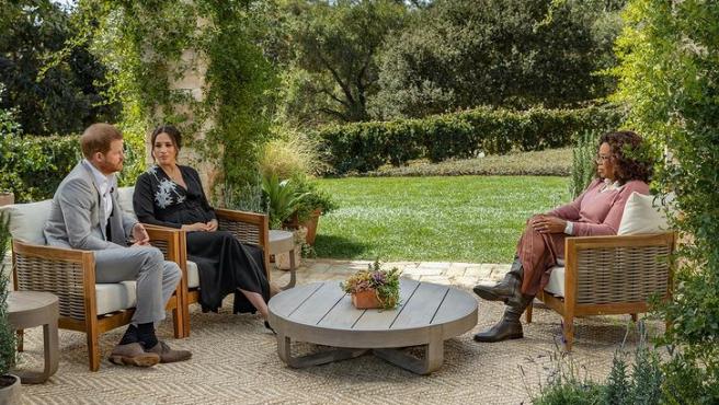 Entrevista duques de sussex y oprah