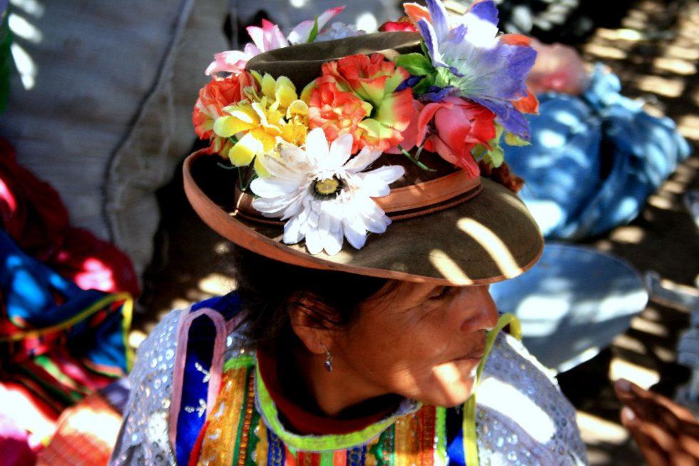 Mercado de productores de Moquegua.