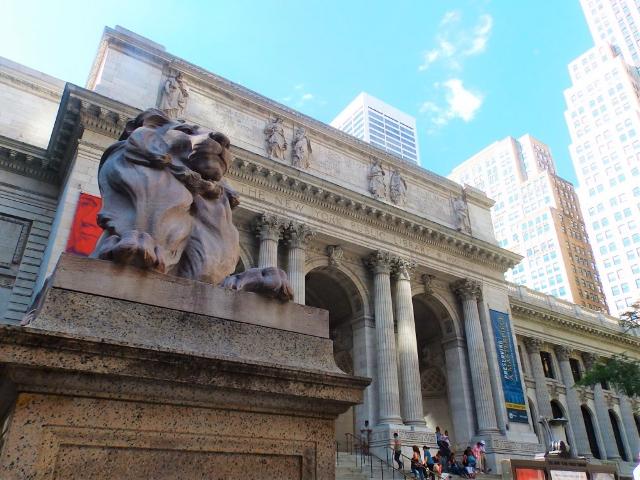 biblioteca de NY