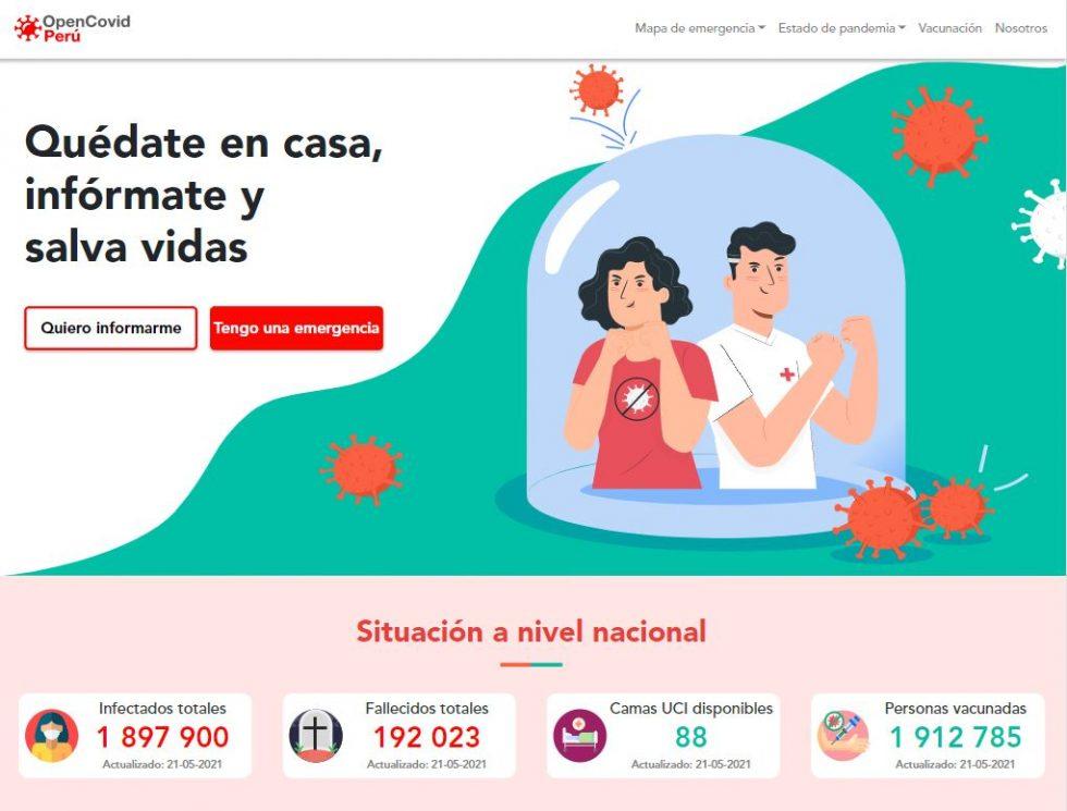 Home- OpenCovid-Perú
