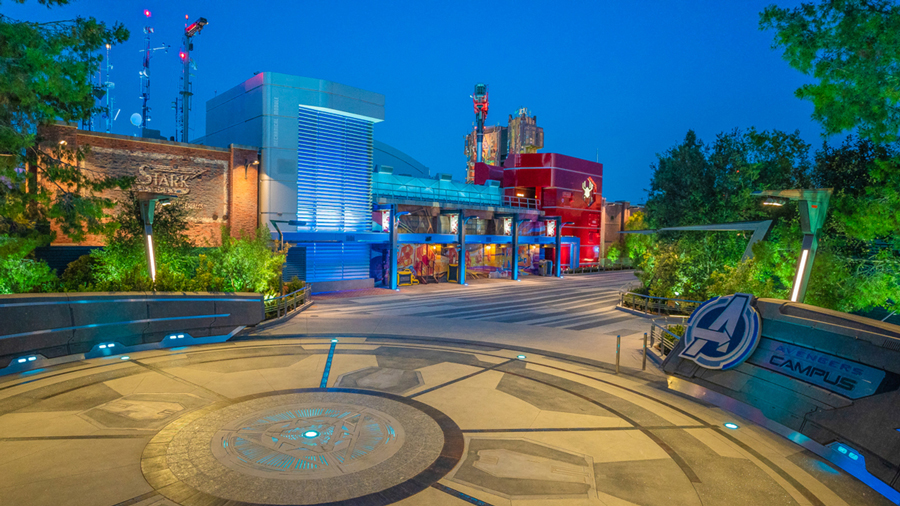 Avengers Campus en Disneyland Resort