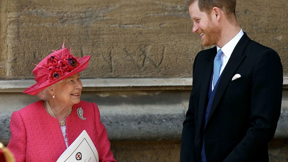Harry reina Elizabeth