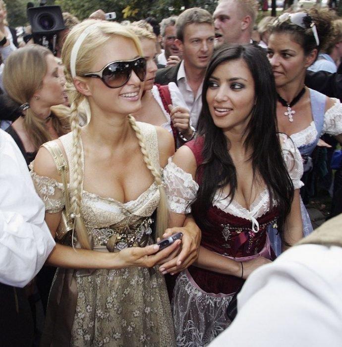 Kim y Paris