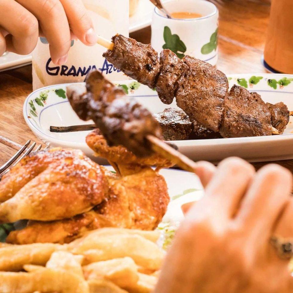 restaurantes Granja Azul