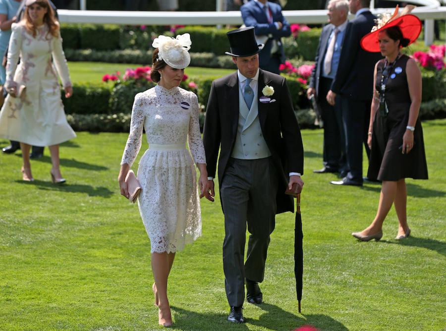 William y Kate Middleton Royal Ascot 2017