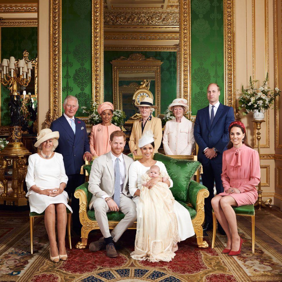 Archie y la familia real