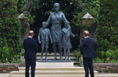 estatua princesa Diana