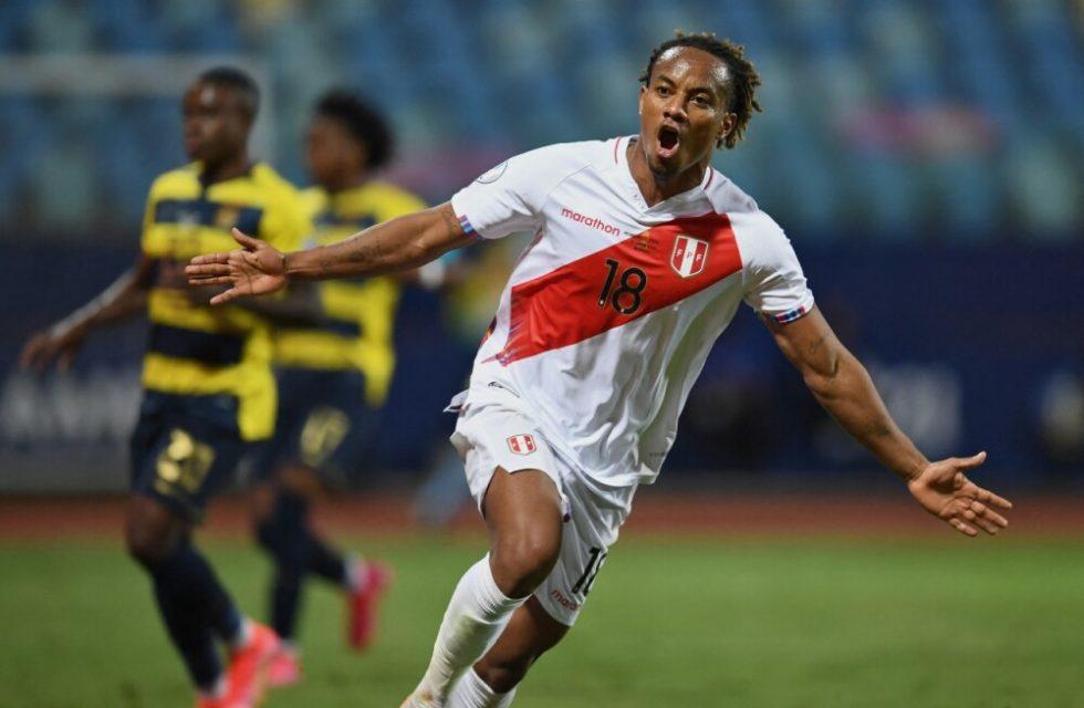 Copa América André Carrillo