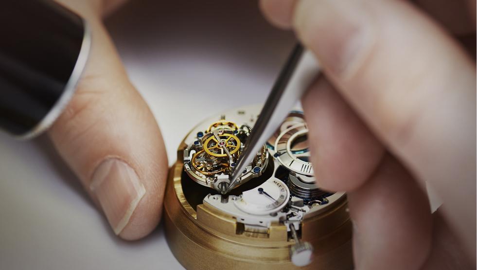 reloj mantenimiento