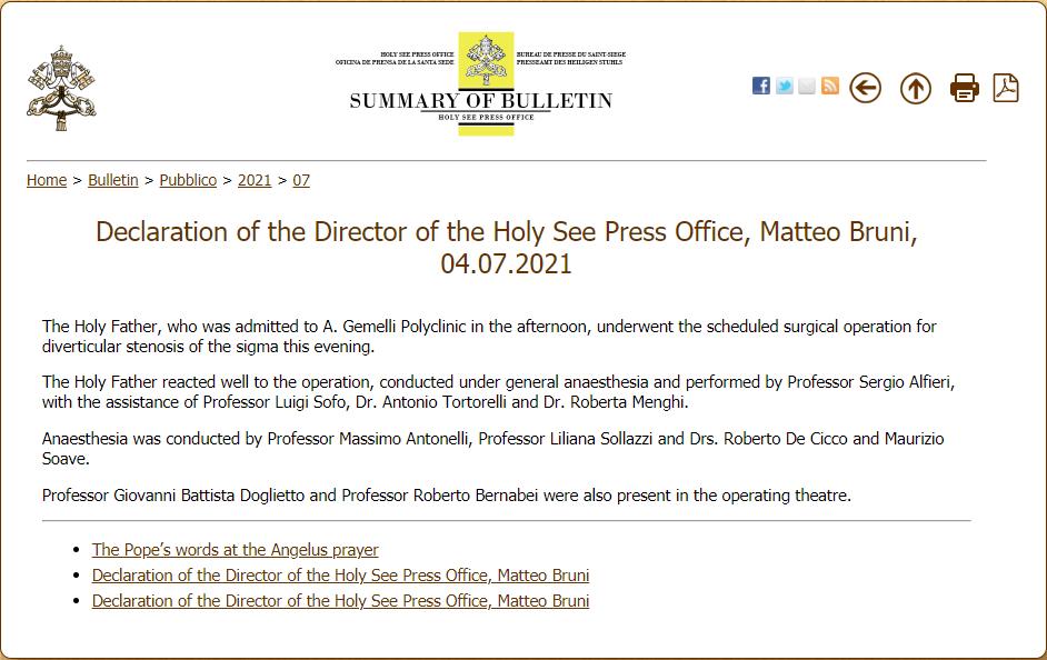 Prensa de la Santa Sede 1