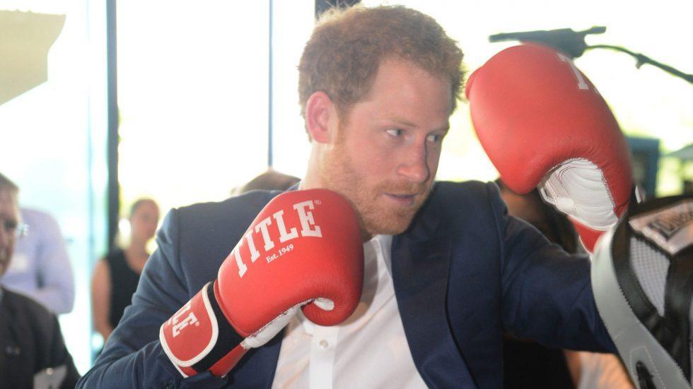 príncipe Harry box