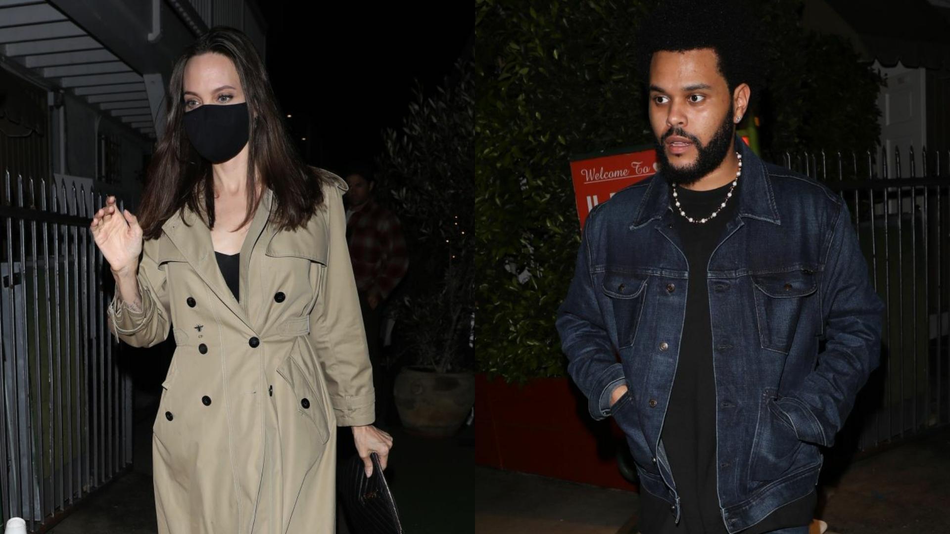 Angelina y The Weeknd