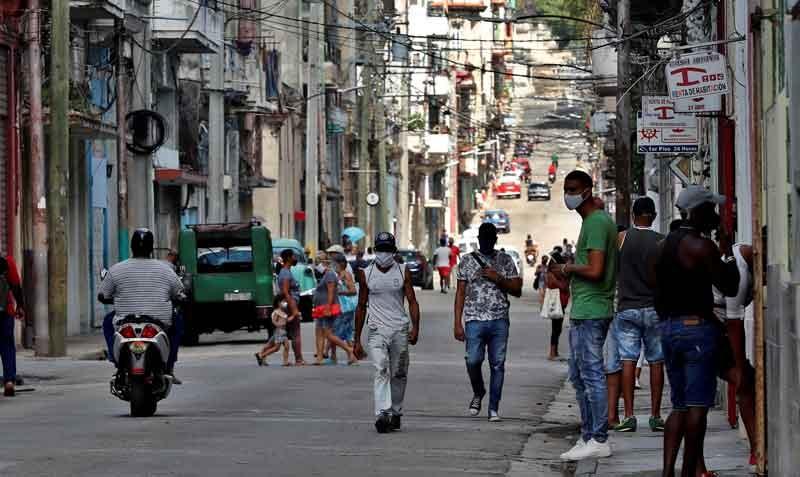CUBA - CRISIS SANITARIA