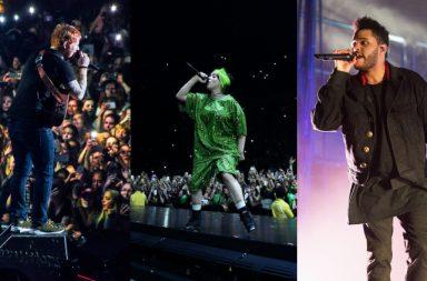Billie Eilish The Weeknd Ed Sheeran