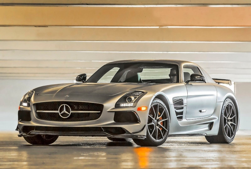 Mercedes-Benz SLS AMG Coupe Black Series