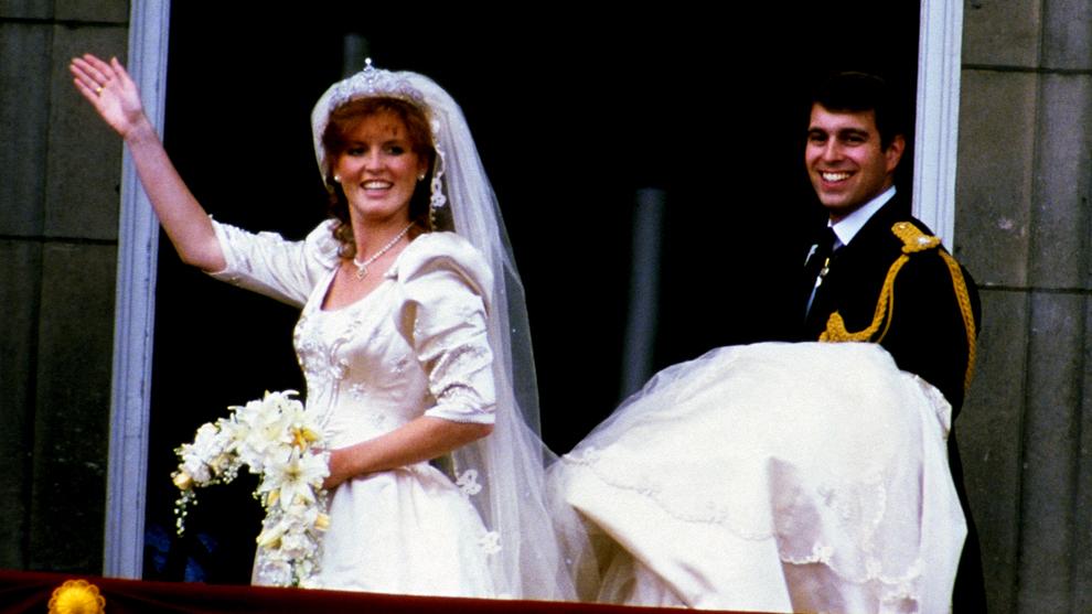 Sarah Ferguson y el príncipe Andrew