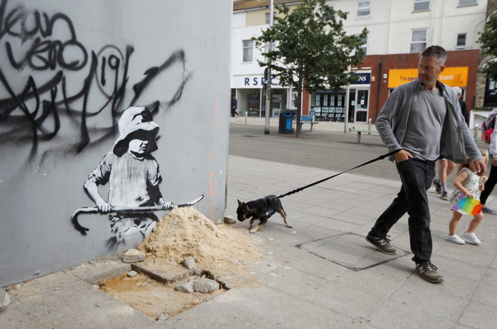 Banksy Lowestoft