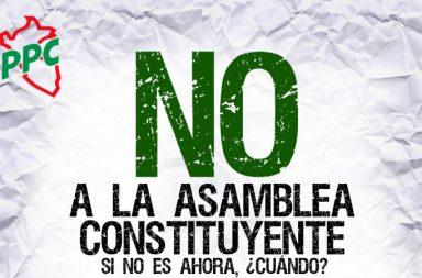 no a la Asamblea Constituyente