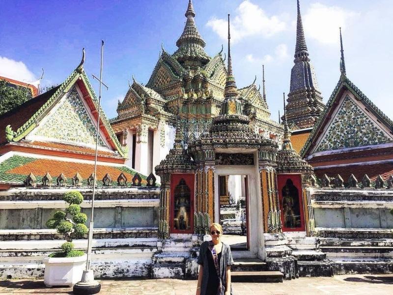 Francesca Ferreyros en Tailandia